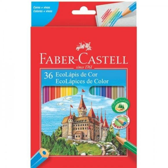 Lápis 36 Cores Faber Castell