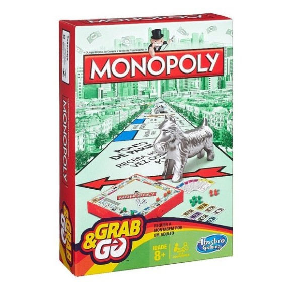 Monopoly Grab & Go - Hasbro
