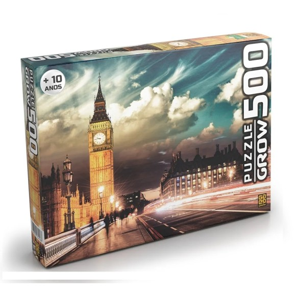 Quebra-cabeça 500 peças Londres - Grow