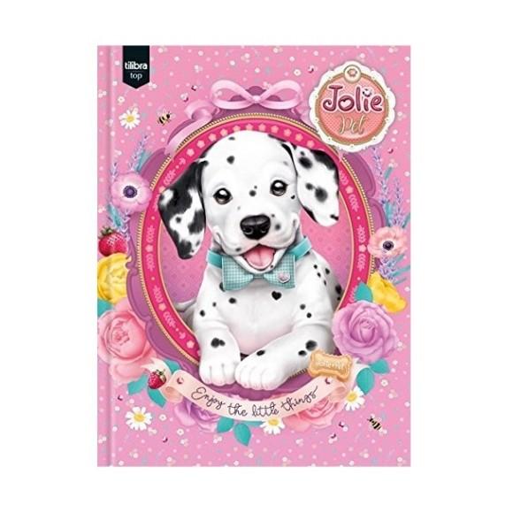Caderno Brochurão Capa Dura Jolie Pet - 96 folhas - Tilibra