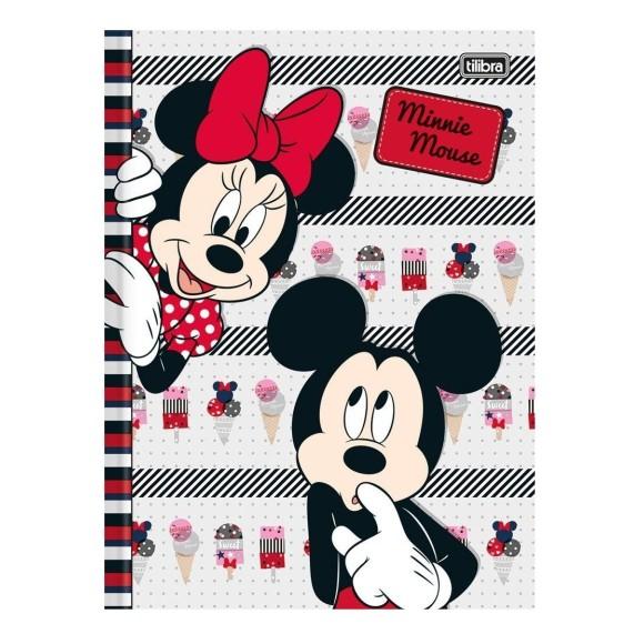 Caderno Brochurão Capa Dura Minnie Mouse - 96 folhas - Tilibra
