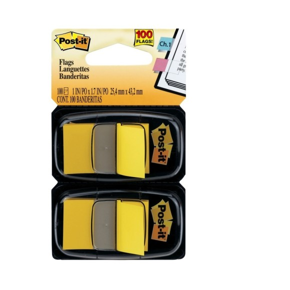 Post-it Flags Amarelo - 3M