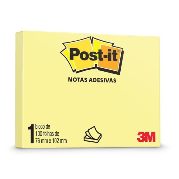 Bloco de Notas Adesivas Post-it - 3M