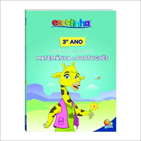 Livro Matemática e Português - 3º ano Ensino Fundamental - Escolinha Todolivro