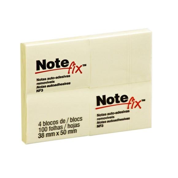 4 Blocos de Notas Auto-Adesivas - Note Fix