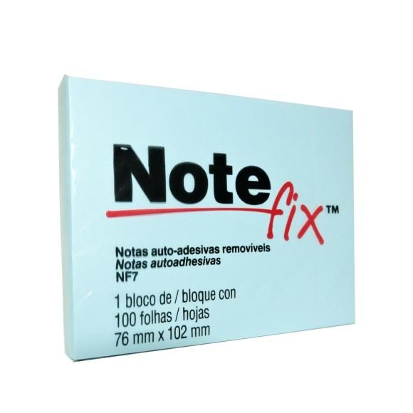 Bloco de Notas Auto-Adesivas Removíves Azul - Note Fix