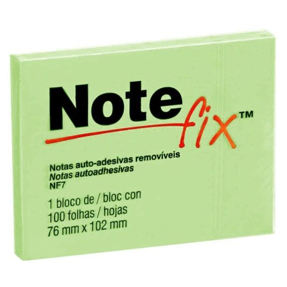 Bloco de Notas Auto-Adesivas Removíves Verde - Note Fix