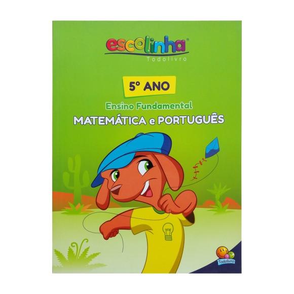 Livro Matemática e Português - 5º ano Ensino Fundamental - Escolinha Todolivro